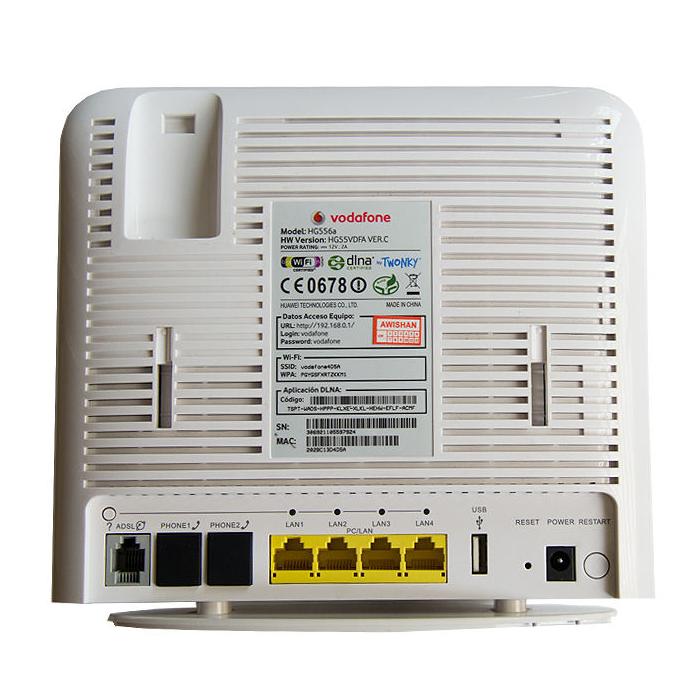 مودم روتر ADSL 2 Plus ودافون HG556a