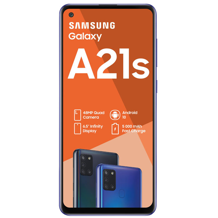 گوشی موبایل سامسونگ مدل A21s