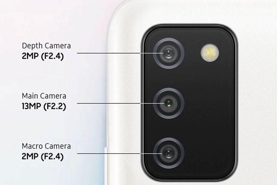 دوربین گوشی a02s