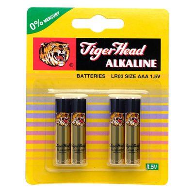باتری نیم قلمی TIGER ALKALINE مدل LR03